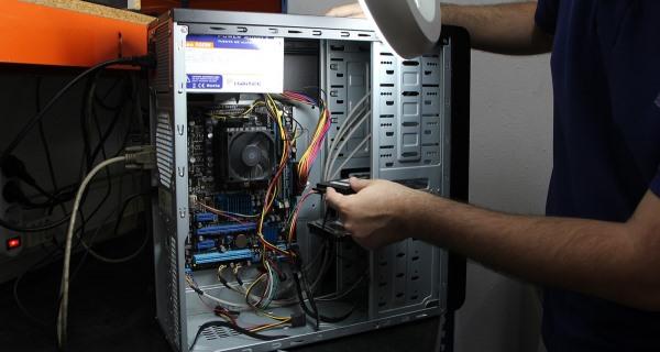 Naprawa komputera w serwisie