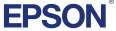Logo Epson - firmy znanej z wysokiej jakości drukarek atramentowych, przeznaczonych do profesjonalnego druku