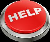 Czerwony przycisk pomocy zdalnej